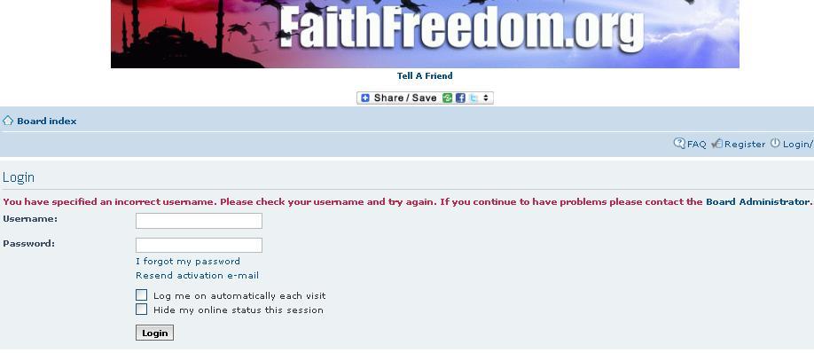 Kebusukan Faith Freedom oleh Kristolog 11