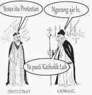 kaatolik vs protestan