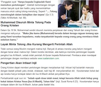 isa dan Islam